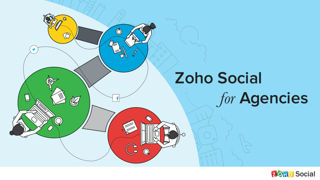 Zoho Social Application